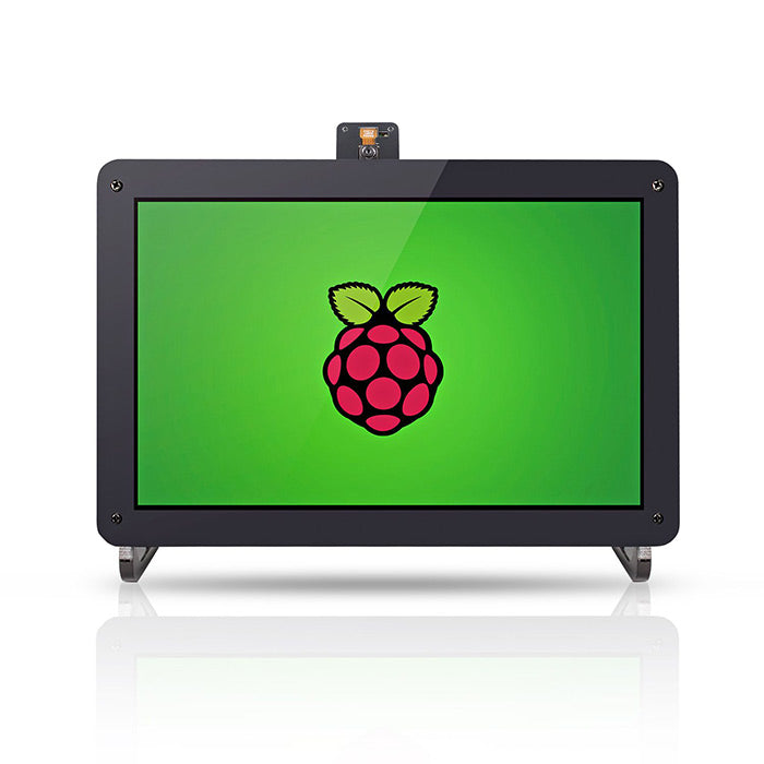 10.1'' 1280×800 HDMI IPS LCD Monitor Display for Raspberry Pi 4B with Camera Holder