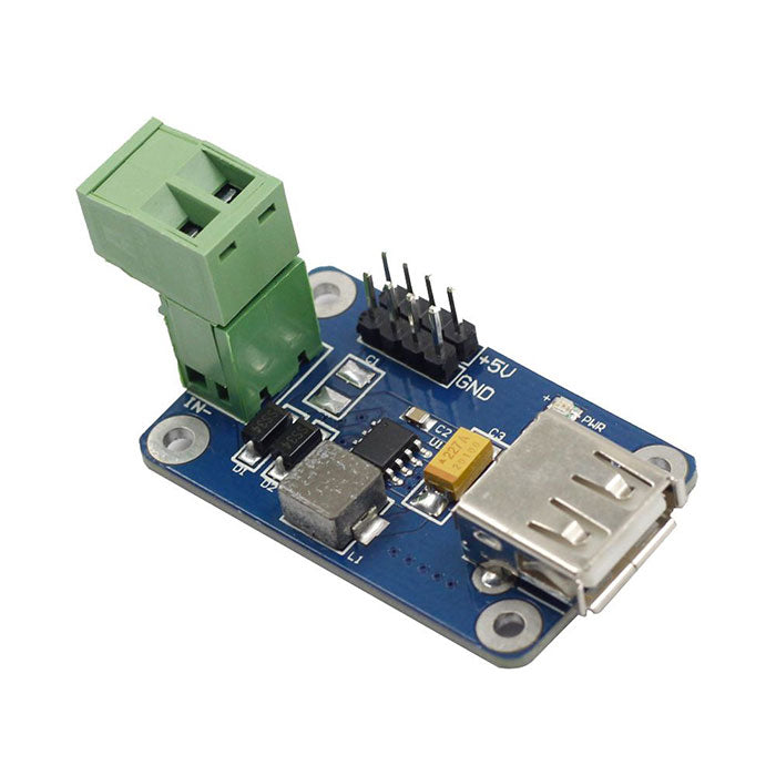 Step-down DC-DC Converter Module for Raspberry Pi
