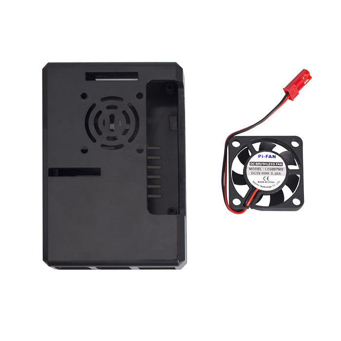 Case with Cooling Fan for Raspberry Pi 4B