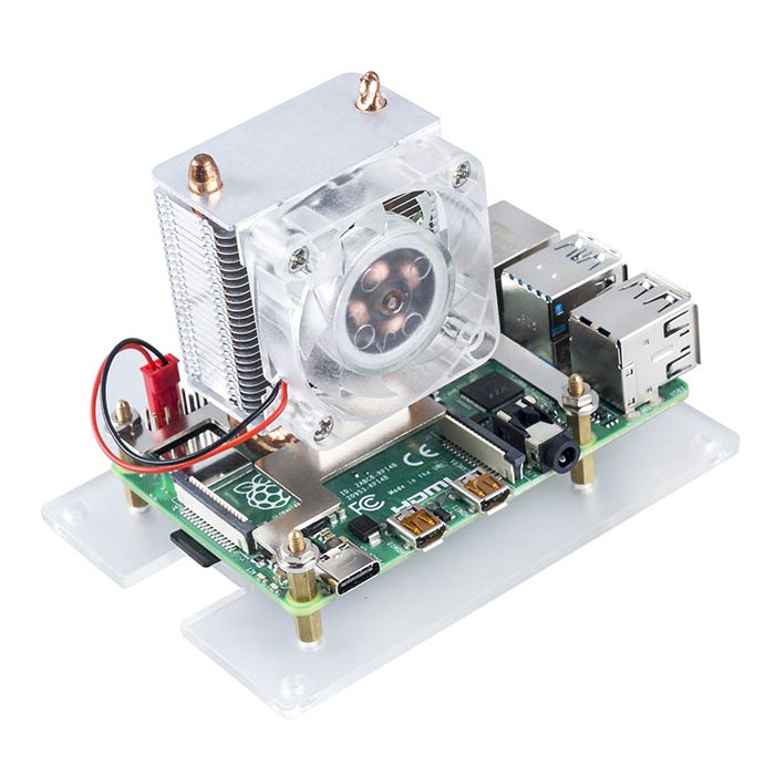 ICE-Tower CPU Cooler for Raspberry Pi