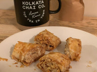 Baklava with Chai Syrup