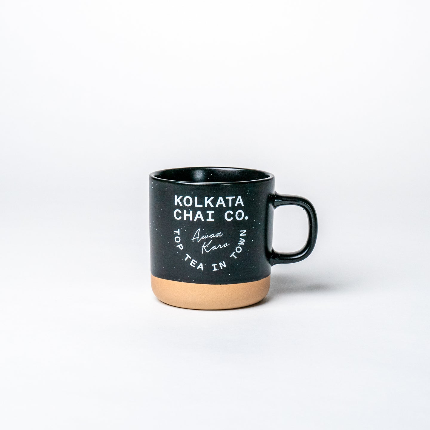 Kolkata Chai Co - Black/Clay Mug
