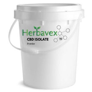 Herbavex CBD Isolate Powder 500 grams