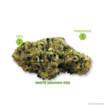 White Dragon CBG Hemp Flower Buds  - 1g to 1oz