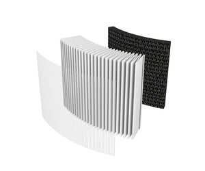 Carrier air purifier filter layers