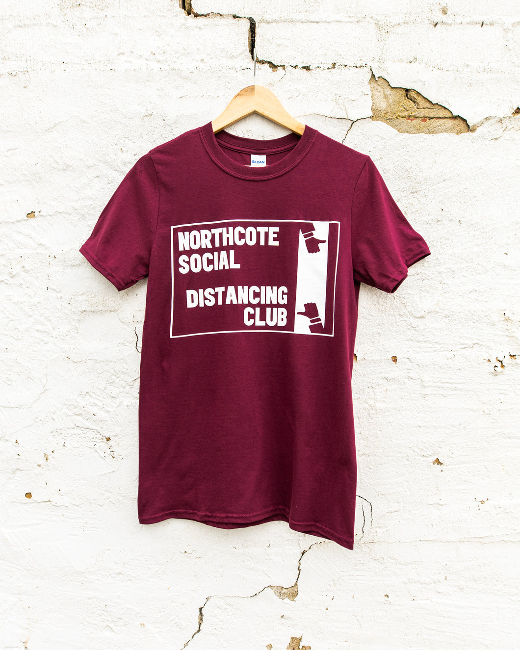 Northcote Social Distancing Club Tee