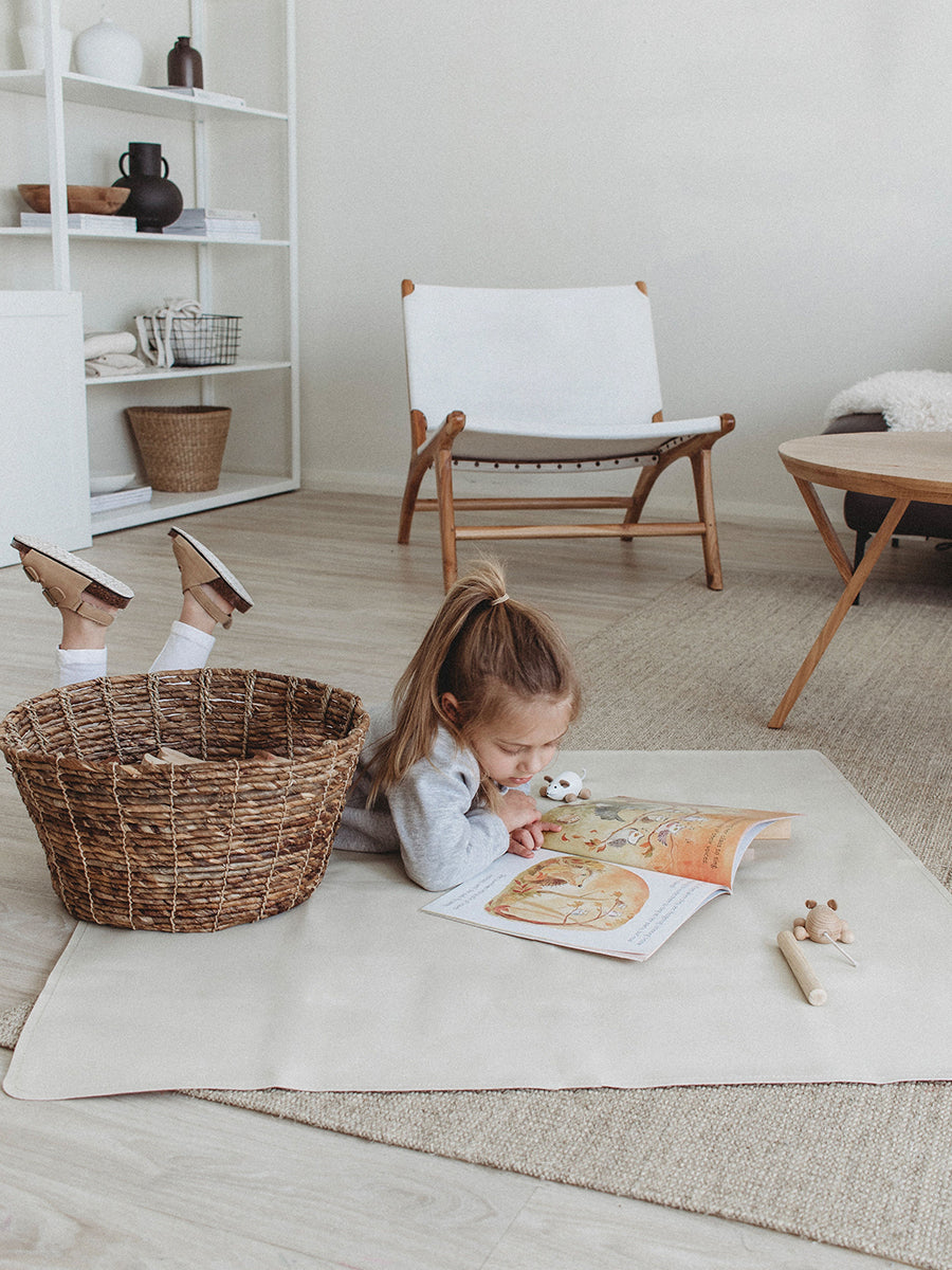Faemli blanc medi leather mat Australia - baby goods for the modern family