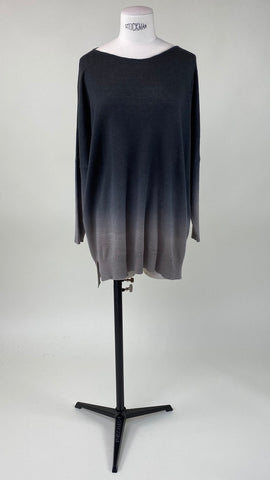 Chloë Long Sleeve Pullover Antra/Yak