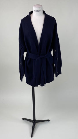 Long Sleeve Blue Walzer Cardigan
