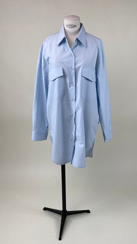 Back Gathered Shirt Sky