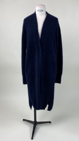 Long Sleeve Navy Blue Cardigan