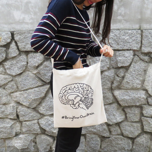 Brain 2-way Totebag