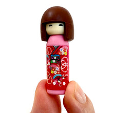 Load image into Gallery viewer, 380035 Iwako Kokeshi Japanese Doll Eraser-Red-1 eraser