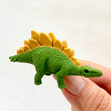 Load image into Gallery viewer, 380076 IWAKO DINO STEGOSAURUS ERASER-LIGHT GREEN-1 eraser