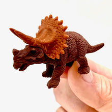 Load image into Gallery viewer, 380077 IWAKO DINO TRICERATOPS ERASER-BROWN-1 eraser