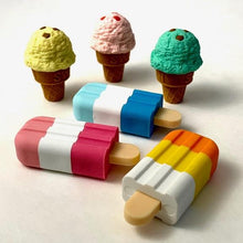 Load image into Gallery viewer, 380192 IWAKO ICE CREAM BAR ERASERS-6 erasers