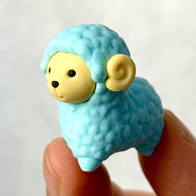 Load image into Gallery viewer, 380223 IWAKO SHEEP ERASER-BLUE-1 ERASER
