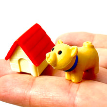 Load image into Gallery viewer, 380285 IWAKO AKITA & DOG HOUSE ERASER-RED HOUSE-1 ERASER