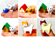 Load image into Gallery viewer, 380286 IWAKO AKITA & DOG HOUSE ERASER-GREEN HOUSE-1 ERASER