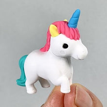 Load image into Gallery viewer, 380442 IWAKO Unicorn & Pegasus Erasers-6 erasers