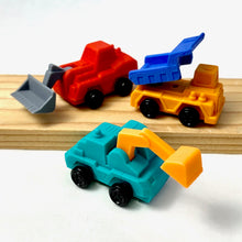 Load image into Gallery viewer, 380963 Construction Dump Trucks Eraser-Yellow-1 eraser