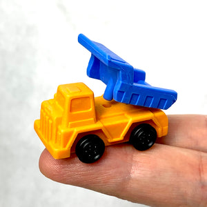 380963 Construction Dump Trucks Eraser-Yellow-1 eraser