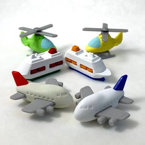 381363 AIRPLANE ERASERS-RED-1 eraser