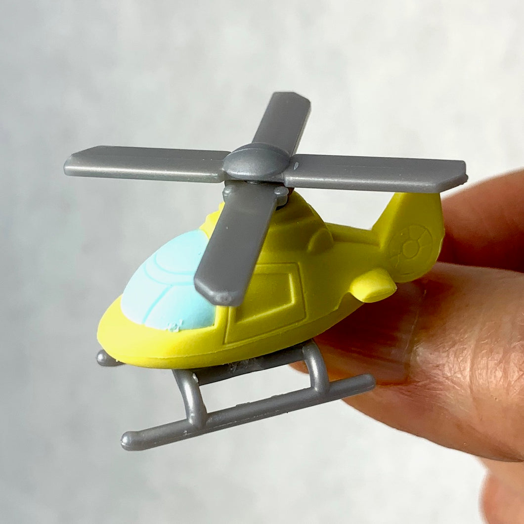 381365 HELICOPTER ERASERS-YELLOW-1 eraser