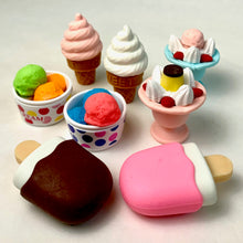Load image into Gallery viewer, 381495 IWAKO ICE CREAM CONE ERASER-VANILLA-1 eraser