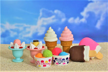 Load image into Gallery viewer, 381496 IWAKO ICE CREAM CONE ERASER-STRAWBERRY-1 eraser