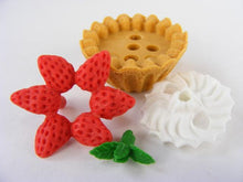 Load image into Gallery viewer, 383621 IWAKO DESSERT TRIPLE ERASERS-1 bag of 3 erasers