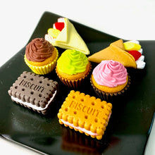 Load image into Gallery viewer, 381676 IWAKO CUP CAKE ERASER-CHOCOLATE-1 eraser