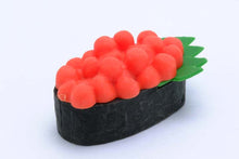 Load image into Gallery viewer, 383691 IWAKO SUSHI TRIPLE ERASERS-1 bag of 3 erasers