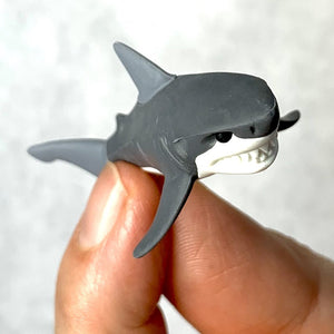 381842 Shark Iwako Erasers-Assorted 2 colors-2 erasers