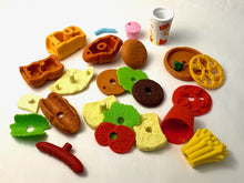 Load image into Gallery viewer, 382032 IWAKO FAST FOOD ERASERS-8 erasers