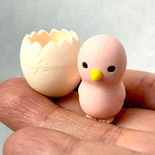 Load image into Gallery viewer, 382414 IWAKO BABY CHICK & EGG ERASER-PINK-1 eraser