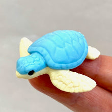 Load image into Gallery viewer, 382512 IWAKO TURTLE ERASERS-3 COLORS-3 erasers