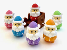 Load image into Gallery viewer, 382642 IWAKO SANTA CLAUS ERASERS-7 erasers