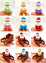 Load image into Gallery viewer, 382644 IWAKO SANTA CLAUS ERASER-ORANGE-1 eraser