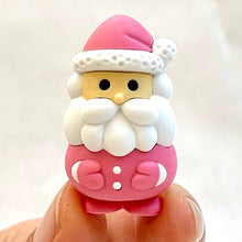 Load image into Gallery viewer, 382645 IWAKO SANTA CLAUS ERASER-PINK-1 eraser