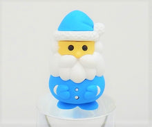Load image into Gallery viewer, 382647 IWAKO SANTA CLAUS ERASER-BLUE-1 eraser