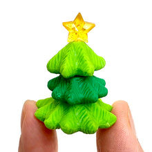Load image into Gallery viewer, 382659 IWAKO CHRISTMAS TREE ERASER-GREEN-1 ERASER