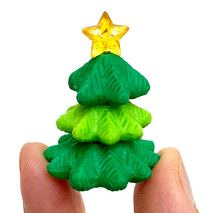 382659 IWAKO CHRISTMAS TREE ERASER-GREEN-1 ERASER