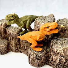 Load image into Gallery viewer, 382664 IWAKO T REX DINOSAUR ERASER-TAN-1 ERASER