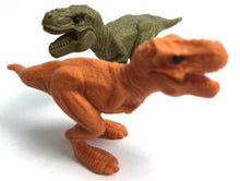 Load image into Gallery viewer, 382663 IWAKO T REX DINOSAUR ERASER-GREEN-1 ERASER