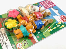Load image into Gallery viewer, 382911 IWAKO ANIMAL PARK ERASERS CARD-1 Card