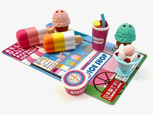Load image into Gallery viewer, 382921 IWAKO ICE SHOP ERASERS CARD-1 Card