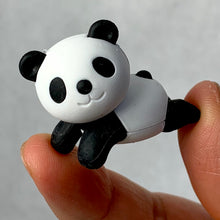 Load image into Gallery viewer, 382177 IWAKO RELAX PANDA ERASER BLACK AND WHITE-1 eraser
