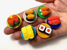 Load image into Gallery viewer, 383101 IWAKO SUSHI-GO-ROUND ERASER CARDS-1 CARD