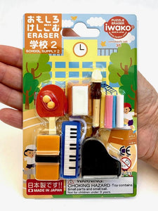 383121 IWAKO EXTRACURRICULAR ERASER CARD-1 CARD